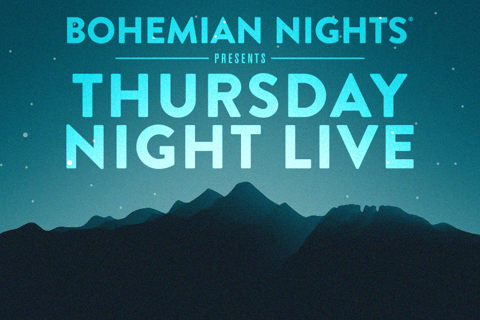 Thursday Night Live 2018 Lineup